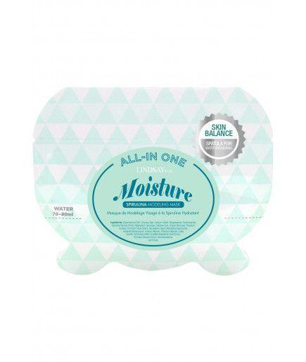 Masque pour le visage Hydratant à la spiruline - 26 g - Lindsay&Co