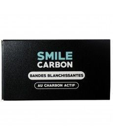 Bandes Blanchissantes au Charbon Actif – Cure de 14 Jours – SMILE Carbon