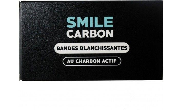 Bandes Blanchissantes au charbon actif – 14 sachets – SMILE Carbon