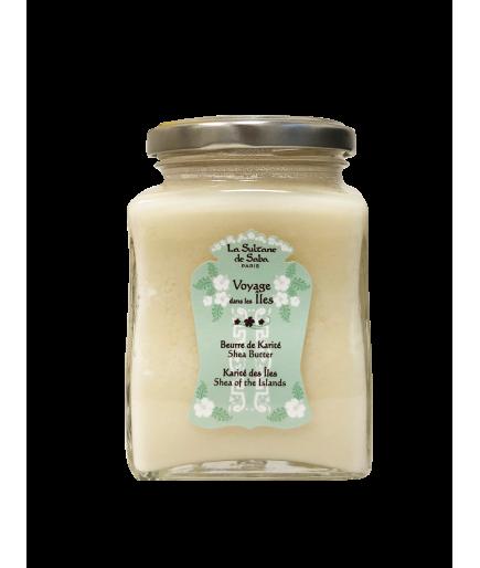 Beurre de karité - Fleur de Tiaré - La Sultane de Saba