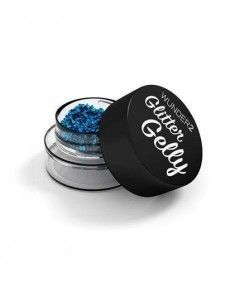 Glitter Gelly - Gel pailleté longue tenue - AQUAMARINE - Wunder 2