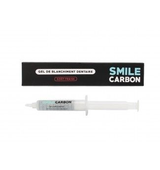 Gel de Blanchiment Dentaire 10ml - Recharge Goût Fraise - SMILE Carbon