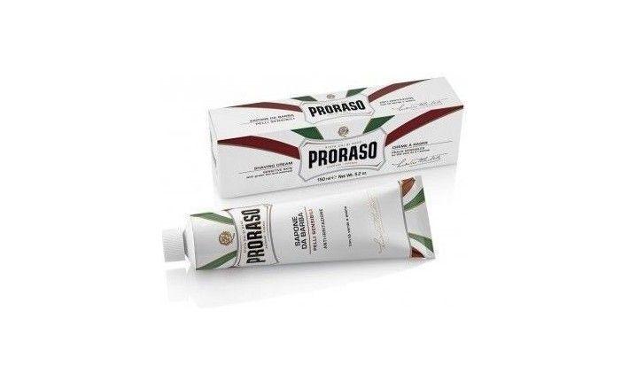 Crème à raser gamme blanche– 150 ml– Proraso