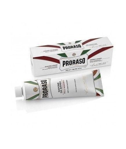 La crema de afeitar gama blanca– 150 ml– Proraso