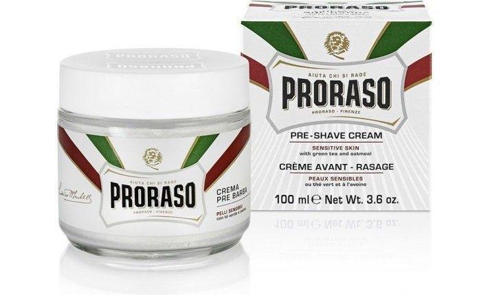 Crème avant rasage gamme blanche - 100 ml - Proraso
