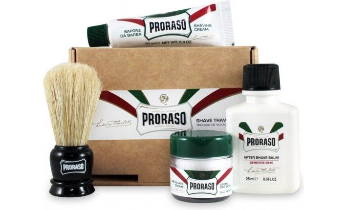 kit de voyage shave travel kit proraso. Black Bedroom Furniture Sets. Home Design Ideas