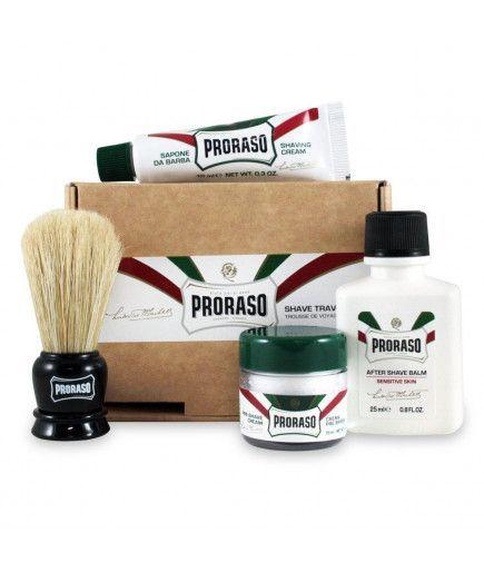 Travel set de Afeitado Kit de Viaje - Proraso