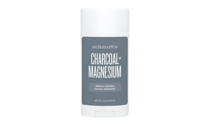 Déodorant Naturel en Stick - Charbon + Magnésium - Schmidt's
