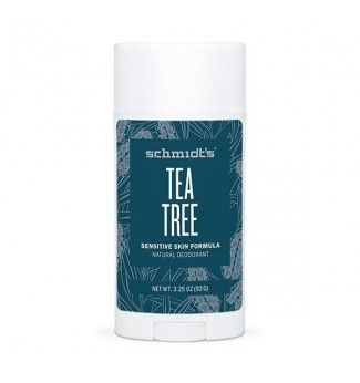 Déodorant Naturel Peaux Sensibles à l'arbre à thé - Sensitive Tea Tree - Schmidt's