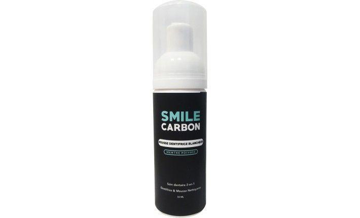 Mousse Dentifrice Blancheur - Menthe Poivrée - SMILE Carbon
