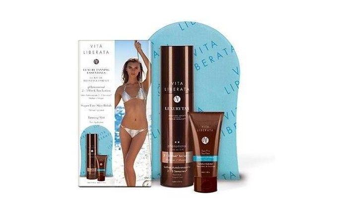 Kit du bronzage Parfait - Lotion Medium - Autobronzant tenue 2-3 semaines - Vita Liberata
