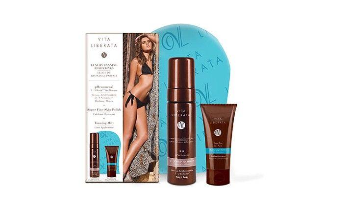 Kit du bronzage Parfait - Mousse Medium - Autobronzant tenue 2-3 semaines - Vita Liberata