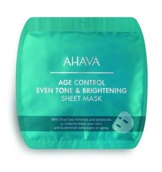 Masque Tissu - Anti-âge et Éclat - AHAVA