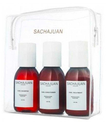 Kit de viaje -Establecer el pelo rizado - Shampoo - acondicionador - Cuidado - 100ml - SachaJuan