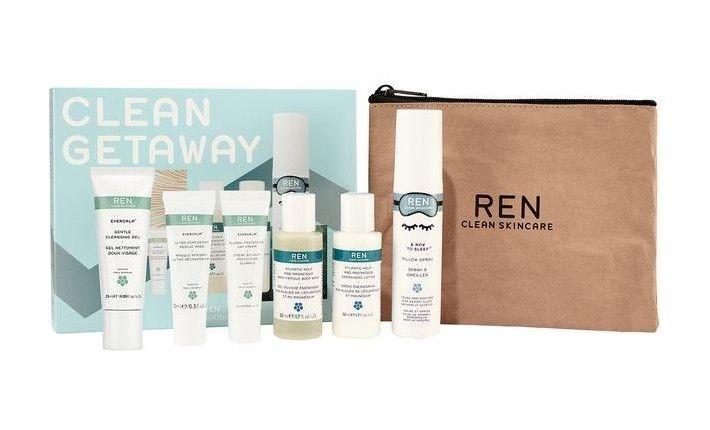 Coffret Visage et Corps Pour Le Voyage - Clean Getaway - REN Skincare