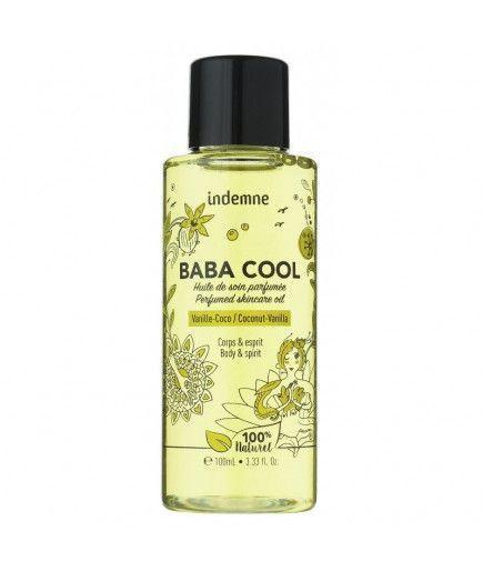 El Aceite De Cuidado De La Baba Cool - Vainilla-Coco - Libre De