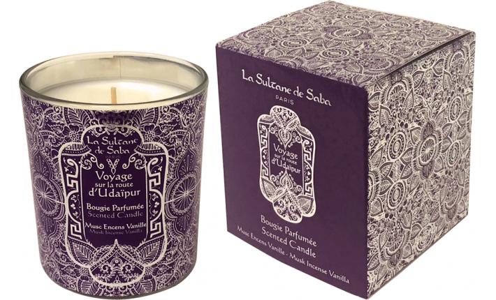 Bougie parfumée - Udaipur - La Sultane de Saba