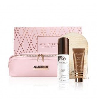 Kit Luxurious tan gift - Mousse Medium - Vita Liberata