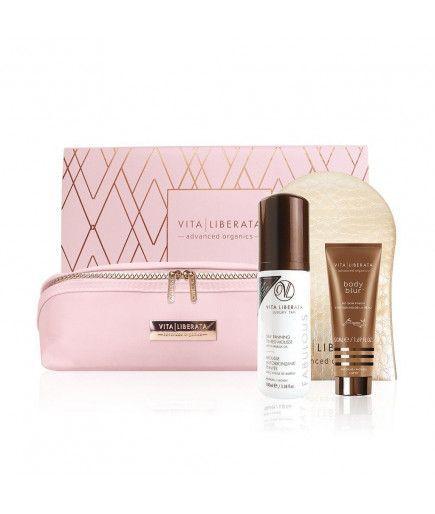 Kit Luxurious tan gift - Mousse Medium - Vita Liberata