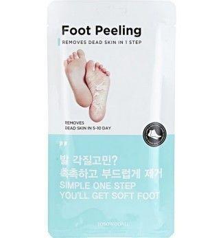 Masque pour les pieds - Foot Peeling - Tosowoong