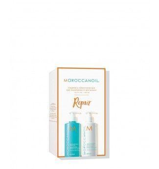 Set Réparateur et Hydratant - Moisture Repair Set - Moroccanoil