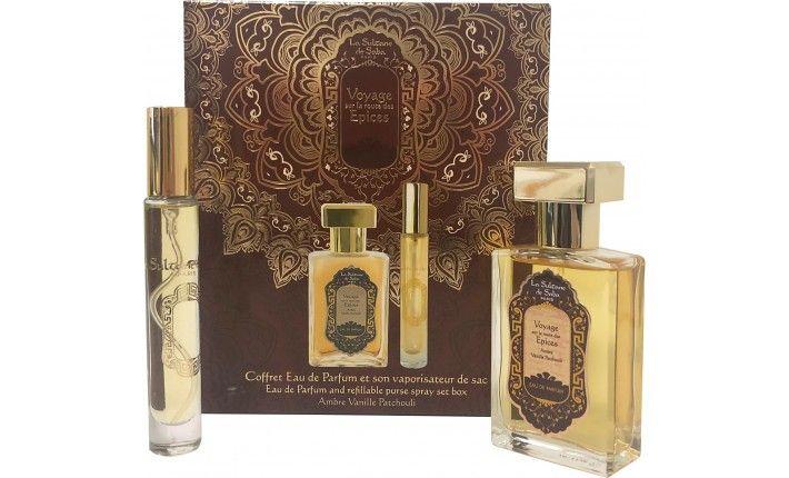 Parfum - Voyage sur la route des épices ambre, vanille, patchouli - La Sultane de Saba