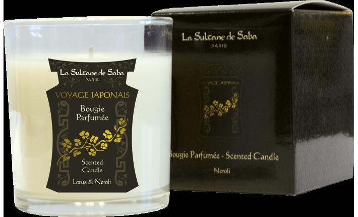 Bougie - Lotus et Néroli - La Sultane de Saba