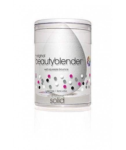 Kit De Esponja De Maquillaje Teint Puro + Limpiador Sólido De Pequeño Tamaño Licuadora Limpiador - Beauty Blender