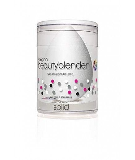 Kit Éponge Maquillage Teint Pure + Nettoyant Solide Petit Format Blender Cleanser - Beauty Blender
