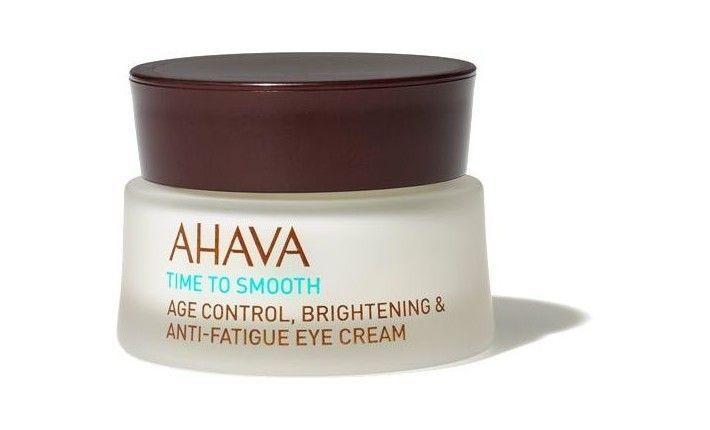Crème contour des yeux anti-âge anti-fatigue et éclat - Time to smooth - AHAVA