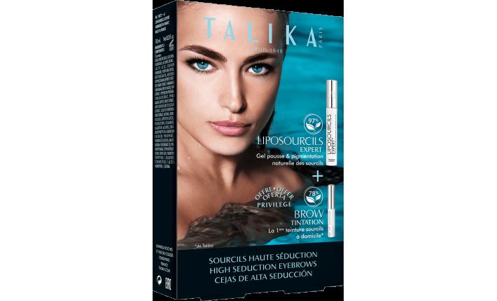 Gel pousse et pigmentation sourcils - Liposourcils Expert - Talika