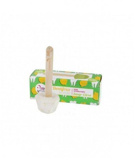 La pasta de dientes sólidos sage-limón - Lamazuna