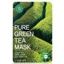 Masque en tissus - Pure Green Tea Mask - TOSOWOONG