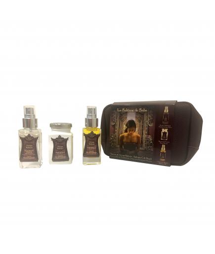 Kit de viaje de bali - flor de Loto y Flor de amancayo - La Sultana de Saba