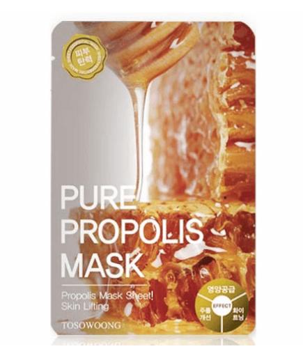 Máscara de tela - Puro Propóleo Máscara - TOSOWOONG