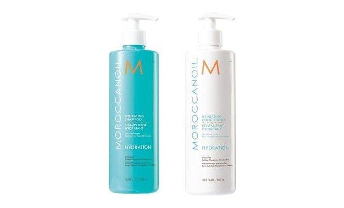Shampoing et Après-shampoing Hydratant - Edition Spéciale - Moroccanoil