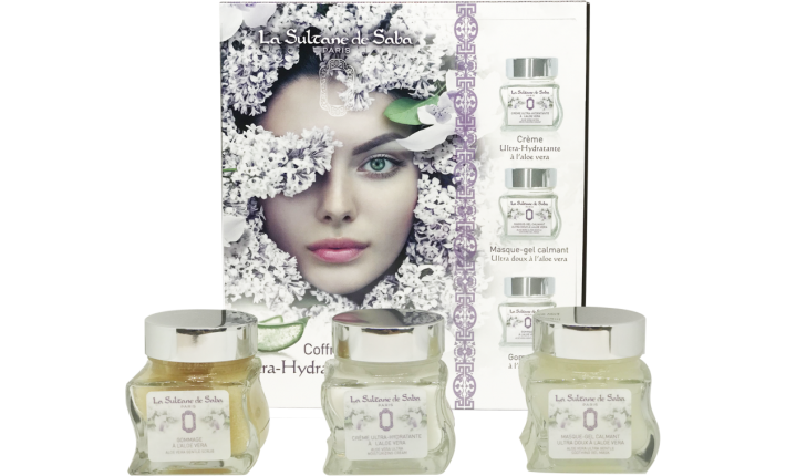 Coffret de soin visage - Ultra-hydratant à l'Aloe Vera - La Sultane de Saba