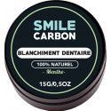 Charbon Actif - Blanchisseur de dents naturel 15gr - SMILE Carbon