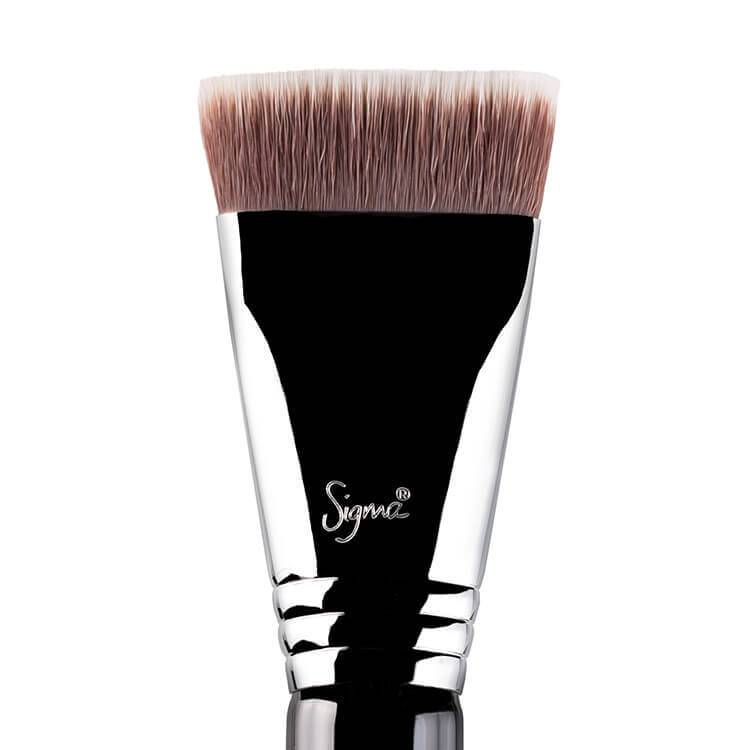 Photo pinceau maquillage teint Sigma Beauty